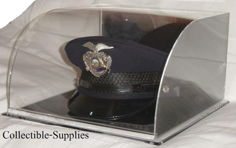 NEW Military Police Academy Top Hat Cover Display Case