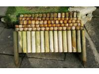 6 Wooden Border Fence Panels