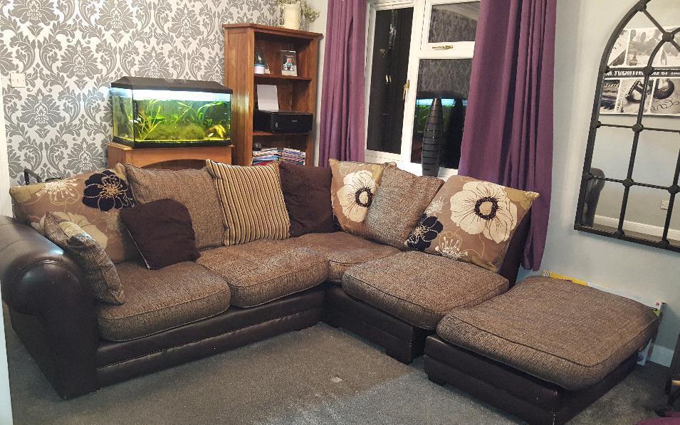 Dfs Corner Sofa In Peterborough Cambridgeshire Gumtree