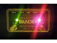 ABY SWITCH BLADE + PEDAL GUITAR AMP USA BOXED ESSENTIAL PRISTINE AS NEW
