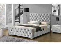 FLORENCE FRAME BEDS NOW ON SALE, CRUSHED VELVET STYLE!!