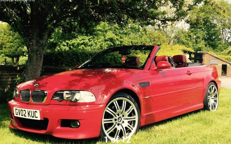 Stunning Imola Red E46 M3 Red Leathers Convertible With Hardtop