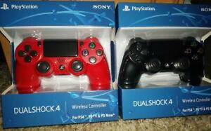PS4 Dualshock 4 Wireless Controller - BLACK/RED, FREE SHIPPING CANADA-WIDE, NO TAXES!