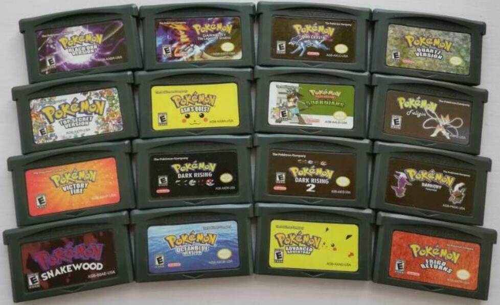 Gameboy Advance Game Boy GBA Pokemon Stardrop Customized