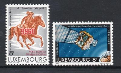 LUXEMBOURG MNH 1983 SG1112-1113 WORLD COMMUNICATIONS YEAR