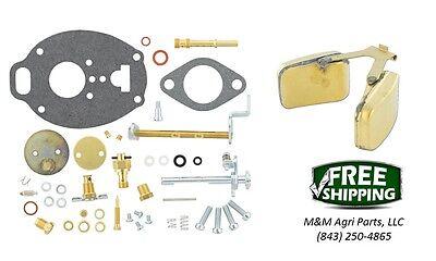 Allis Chalmers D17 Wd45 Carburetor Repair Kit Float - Marvel Schebler Carb