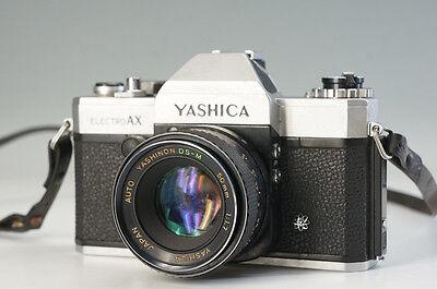 Пленочные фотокамеры YASHICA ELECTRO AX Film
