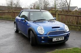 Mini Cooper S 1.6 Convertible TOP SPEC CHILLI SAT NAV
