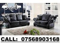 brand new luxury Leather diana 3+2 Sofa