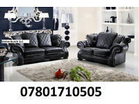 sofa diana new release 3+2 sofa set leather as in pic 5 sets only BRAND NEW 78619