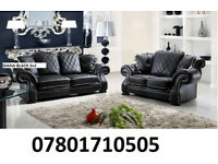 sofa diana new release 3+2 sofa set leather as in pic 5 sets only BRAND NEW 6103