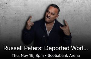 Russell Peters - Toronto - Nov 15th