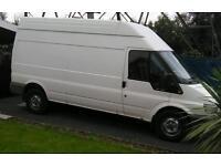 Man and a van belfast