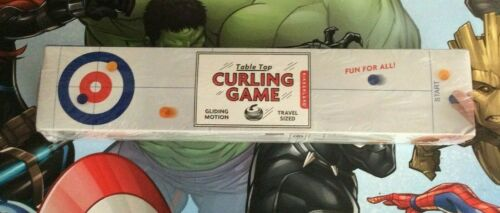 Brand New Sealed Table Top Curling Game Travel Size