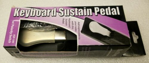 On Stage KSP-100 Universal Piano-Style Keyboard Sustain Pedal