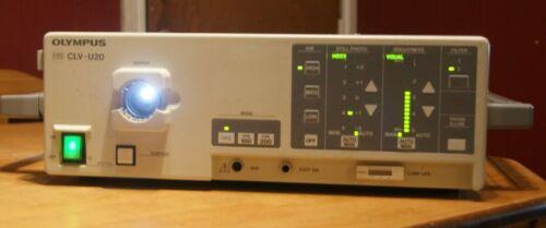 OLYMPUS CLV-U20 UNIVERSAL XENON LIGHT SOURCE W/ WORKING LAMP