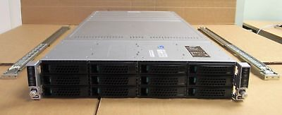 Intel H2312JFKR 4 Node Servers 8 x Six-Core XEON E5-2620 128GB 2U Rack Server