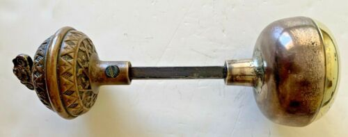 Brass Doorknob and Twist Bell Combination