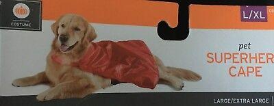 Pet Superhero Super Hero Red Satin Costume Cape for Dog New - Dog Super Hero Costume