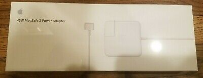 Apple 45W MagSafe 2 Power Adapter (for MacBook Air) * Brand new 100% authentic