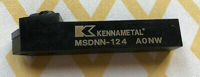 Kennametal Right Hand Negative Rake Indexable Turning Toolholder Msdnn-124 Aonw