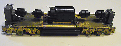 BRASS HO SCALE DIESEL or HEAVY ELECTRIC DUAL SHAFT CAN MOTOR REPOWER -