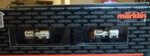 Z Scale Marklin 98023 Storch Mini Tanker Set