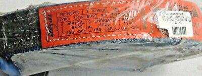 Lift-all 6400 Lbs Cap Uu2802tx 18 Tuff Edge Polyester Web 2 X 18