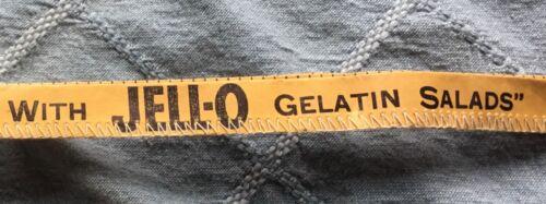 Vtg Advertising Sewing Tape Measure - Jell-o Jello Gelatin Salad - 5 Foot Unused
