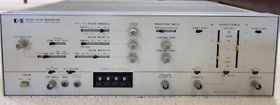 Hp 8015a Pulse Generator Clean Tested