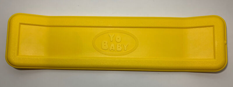 GarageCo Toys Yo Baby Kick Flipper Practice Board Skateboard YELLOW USED