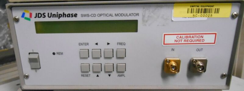 Jds Uniphase Sws-cd Optical Modulator Jdsu Sws20008