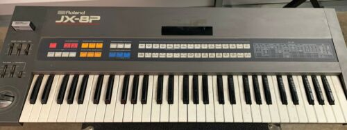 Roland JX 8P Fully Analog Synthesizer 61 Key Six Note Polyphonic 1985 Tested