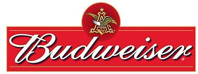 Budweiser Beer Logo Combo Vinyl Decal Sticker - You Choose Size
