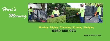 Hari's Mowing - Garden and Property Maintenance