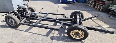 Triumph Herald 12/50 rolling chassis with engine and gearbox v5 & chassis plate