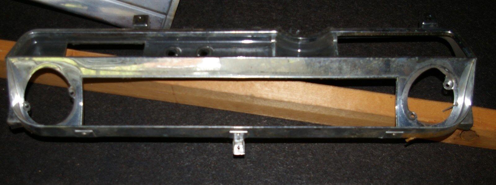 1963 1964 CADILLAC DASHBOARD SPEEDOMETER CHROME BEZEL 63 64 NICE