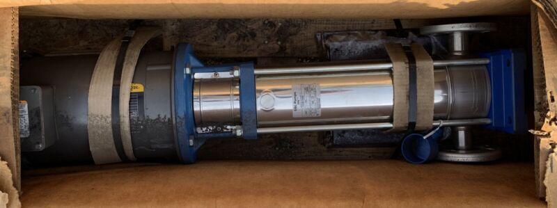 G&L Goulds 1SVB1J5N6 Stainless SSV Vertical Centrifugal Pump