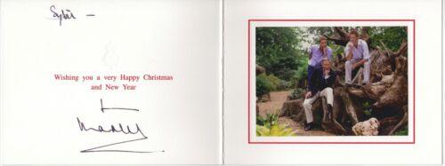 Charles, Prince – signed Christmas Card