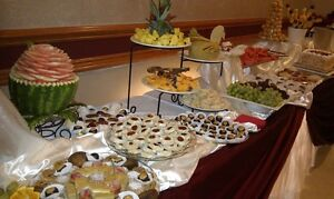 fruit and dessert table, wedding cakes,banquet halls décor Windsor Region Ontario image 2