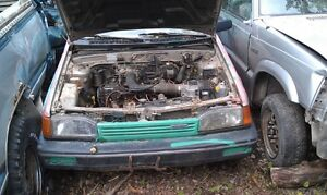 89 MAZDA 323 PARTS Prince George British Columbia image 1
