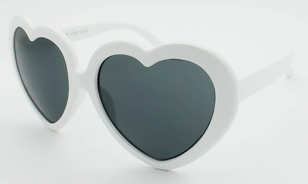f74e7849e2 Corazón forma gafas de sol Festival bohemio Lolita estilo disfraces fiesta  Color brillante