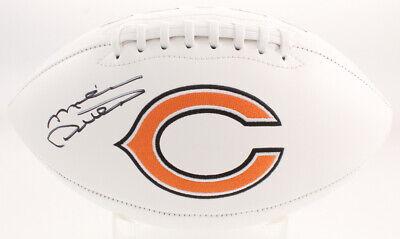 Mike Ditka Chicago Bears Signed Autograph White Panel Football JSA COA