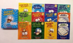 Fly Guy Phonics Childrens Books Box Set Lot 12