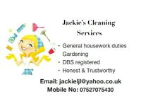 Jackie's Cleaning Services