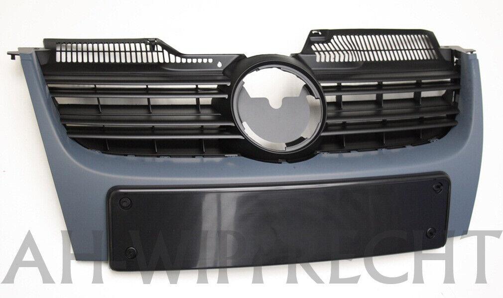 Original VW Golf 5 GT Sport Kühlergrill GTI Grill grundiert komplett Frontgrill