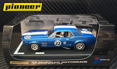 Usado, Pioneer Slot Car P010 1968 Ford Mustang Notchback segunda mano  Embacar hacia Spain