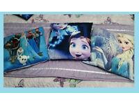 3 Frozen Cushions
