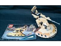 LEGO Star Wars Trade Federation AAT Set 7155 with instructions & mini figures