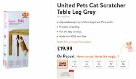 United Pets Cat Scratcher Table Leg Grey (BRAND NEW)